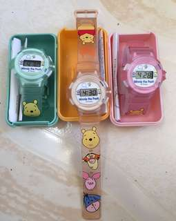 AUTHENTIC WINNIE THEPOOH WATCH