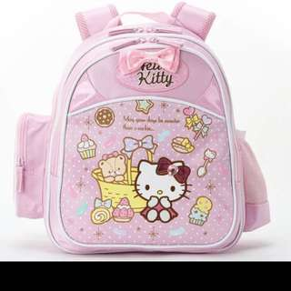 Hello Kitty School Bag / hello kitty back pack