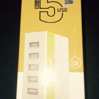 Remax RU-U1 5 Port USB