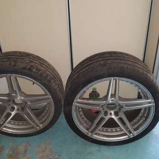"BMW 19""rim without tyre or exchange with 18""BWW rim"