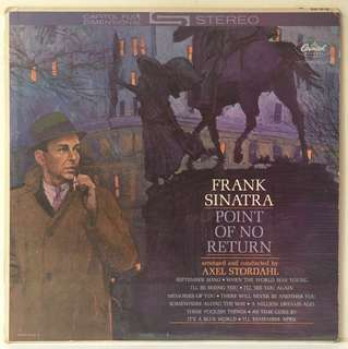 Frank Sinatra ‎– Point Of No Return (1962 US Pressing - Vinyl Is Excellent)