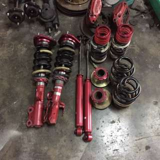 Tanabe Sustec Pro5 coilover for Estima Alphard Vellfire with TEAS
