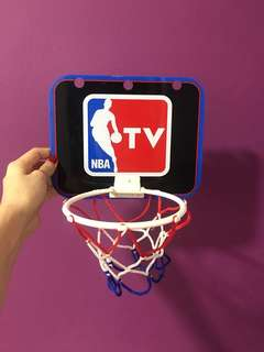 NBA TV mini hoop