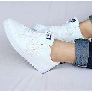 Adidas Ori Neo Clean Advantage White Black 37