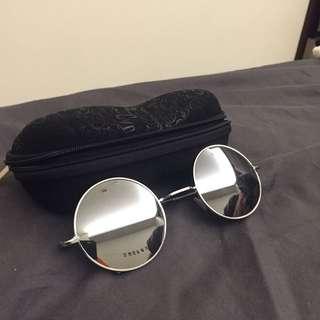 太陽眼鏡 復古 金屬
