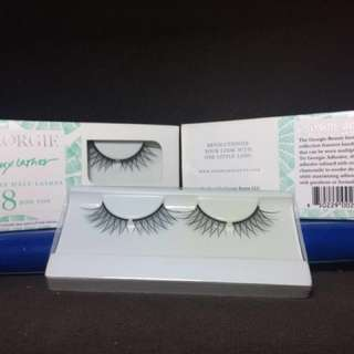 GEORGIE BEAUTY NY Faux Lashes • $18.00/box but selling for Php500 for 2 boxes • Brand New •