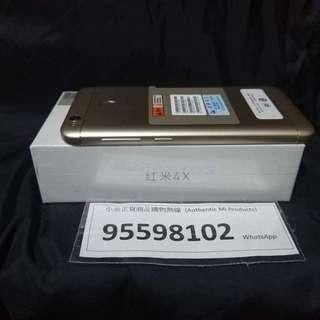 Mi 小米 / 紅米 Redmi 4X, 2+16G, Global Version, Black/Gold. Price non-negotiable !