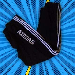 Black Adidas Track Pants Jogging Sportswear Streetwear