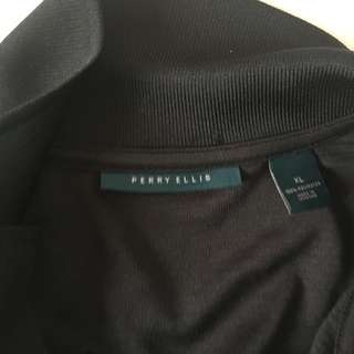 Perry Ellis polo shirt authentic