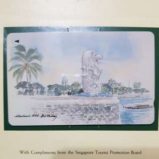 Merlion Collectible Phonecard