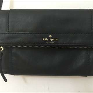 KS Black FREMONT PLACE JULIAN Soft Leather Cross Body bag
