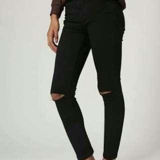 Topshop Jamie Jeans Knee Slit