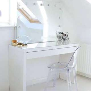 Vanity Table and Mirror