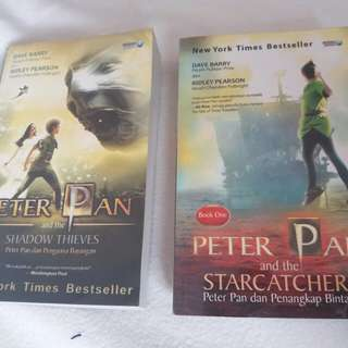 Novel PETER PAN set preloved