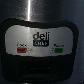 Deli Chef commercial rice cooker