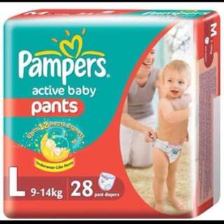 Pampers 3 for $30