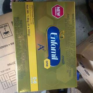 ENFAMIL O to 6 MOS ,1.8 KILO  3 Box available