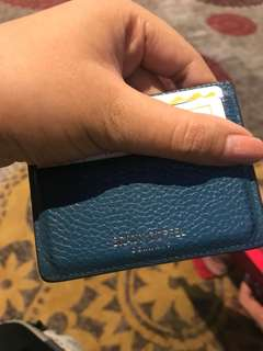 Braun Buffel Card Holder 100% Authentic