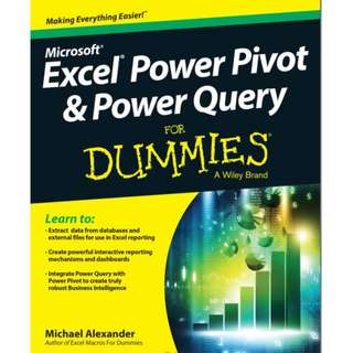 Ebook Excel® Power Pivot & Power Query For Dummies®