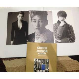 SUPER JUNIOR SMTOWN WEEK LIMITED EDITION (only members shown are available)