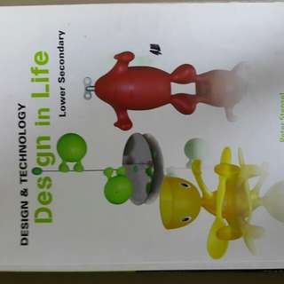 DESIGN and TECHNOLOGY design in life lower secondary