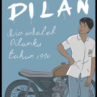 Ebook - novel dilan