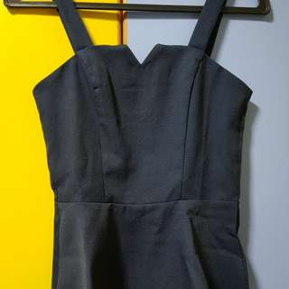 MDS sleeveless back zip top