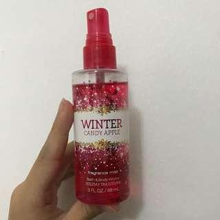 Bath & Body Works Fragrance Mist Winter Candy Apple Perfume