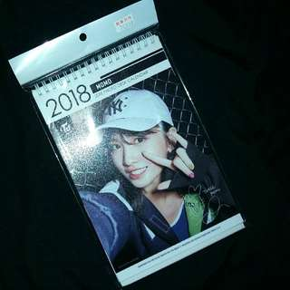 Twice Momo photodesk calendar