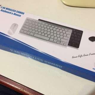 2.4G Wireless Combo Keyboard Mouse