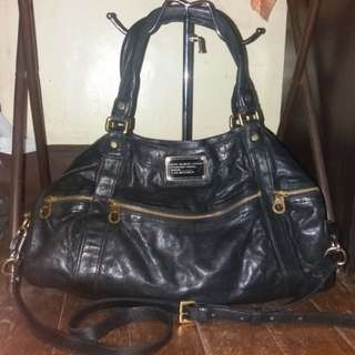 Marc Jacobs MJ leather dual sling bag