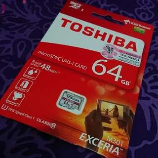 Toshiba 64GB mircoSD
