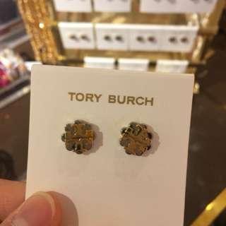 Tory Burch logo 耳環