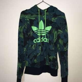 Green Adidas Hoodie