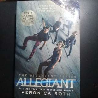 "BRAND NEW ""Allegiant: Divergent Series"" by Veronica Roth"