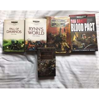 Warhammer 40k Novels set