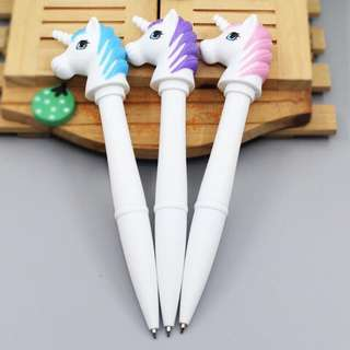 Unicorn ballpen with lights