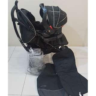 Mothercare Curv Stroller Travel System
