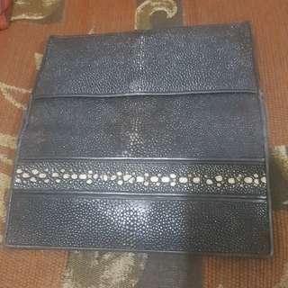 Dompet kulit ikan pari asli