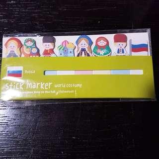 Russia Paper Marker