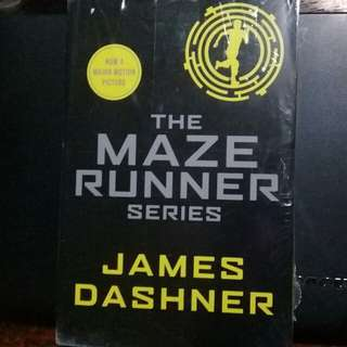 "BRAND NEW REPRICED ""Maze Runner Series"" by James Dashner"