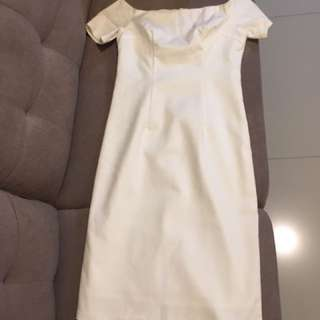 SM Woman white pencil dress XS
