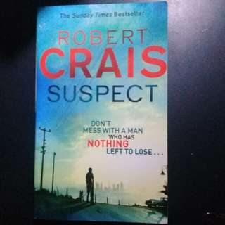 "BRAND NEW ""Suspect"" by Robert Crais"