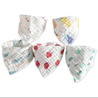 Pls READ: Drooling bibs cotton / baby bib