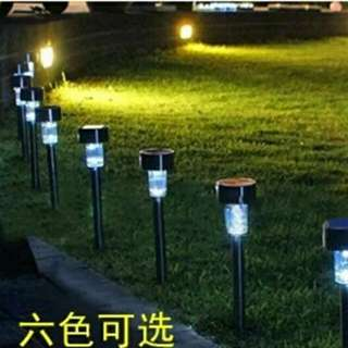 Solar Powered Outdoor Lighting  White Solar Lamp Garden Fashion Good Quality Lawn Light.