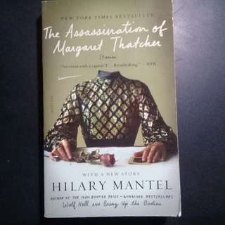 "BRAND NEW  ""The Assassination of Margaret Thatcher"""
