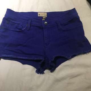 Blue Roxy jeans shorts