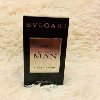 Bvlgari Man Black Cologne with Atomizer