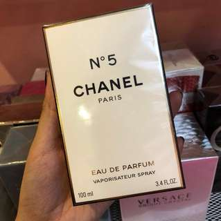 No. 5 Chanel with Atomizer