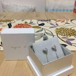 Agnes b sport earring